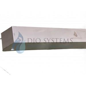 Бактерициден UVC Стерилизатор 110W, от Неръждаема стомана,  за постоянна работа В присъствие на хора, 150 кв.м.